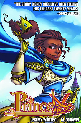 Princeless Pirate Princess Issue 2 Preview Thumbnail